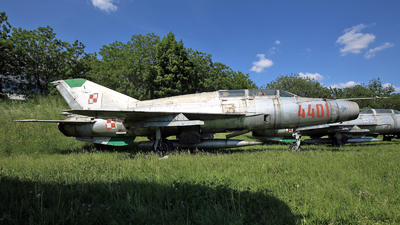 4401 - Mikoyan-Gurevich MiG-21US Mongol B - Poland - Air Force
