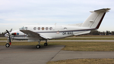OK-MAG - Beechcraft 200 Super King Air - Private