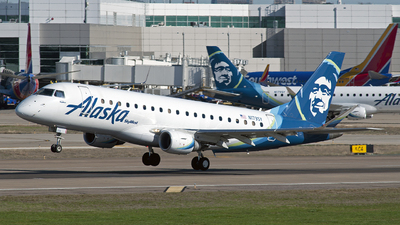 A picture of N173SY - Embraer E175LR - Alaska Airlines - © Poorness Studios