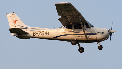 B-7941 - Cessna 172R Skyhawk - Civil Aviation Flight University of China