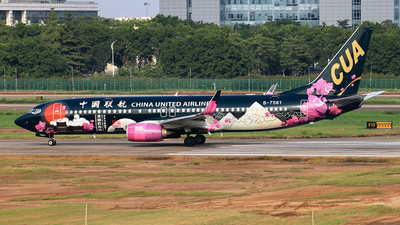 B-7561 - Boeing 737-89P - China United Airlines
