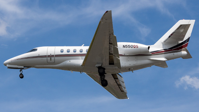 N550QS - Cessna Citation Latitude - NetJets Aviation