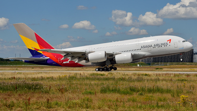 F-WWAQ - Airbus A380-841 - Asiana Airlines
