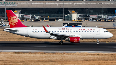 A picture of B1871 - Airbus A320214 - Juneyao Airlines - © Chingwang Lee