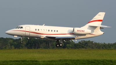 N412WD - Dassault Falcon 2000 - Private