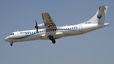 EP-ATX - ATR 72-212A(500) - Iran Aseman Airlines