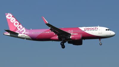 A picture of JA04VA - Airbus A320214 - Peach - © NRT Spotter