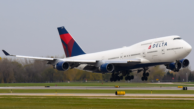 A picture of N665US - Boeing 747451 - [23820] - © Steve Rinde