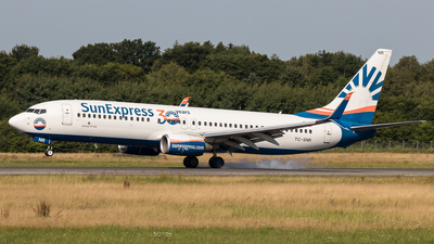 A picture of TCSNR - Boeing 7378HC - SunExpress - © Boscgnspotter
