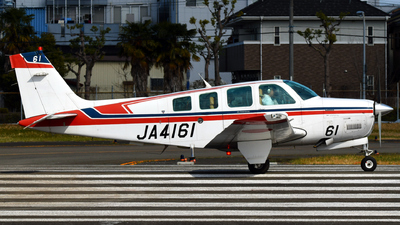 JA4161 - Beechcraft A36 Bonanza - Private