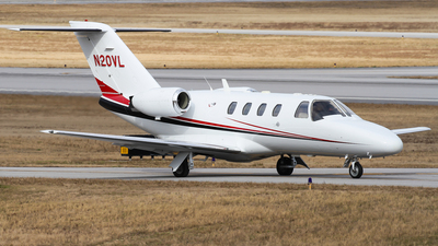 N20VL - Cessna 525 Citationjet CJ1 - Private