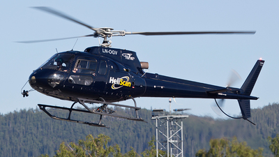 LN-OGV - Eurocopter AS 350BA Ecureuil - Heliscan