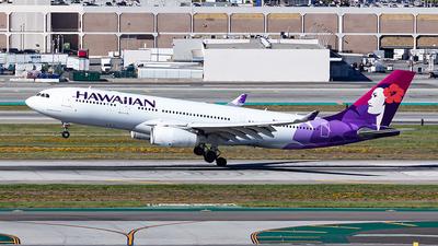 N396HA - Airbus A330-243 - Hawaiian Airlines