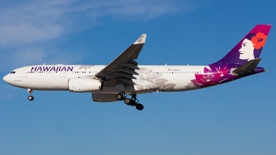 N388HA - Airbus A330-243 - Hawaiian Airlines