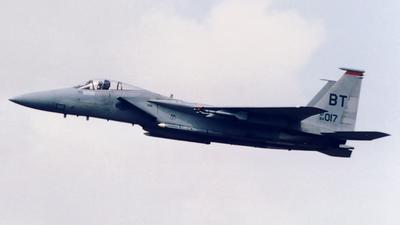 84-0017 - McDonnell Douglas F-15C Eagle - United States - US Air Force (USAF)