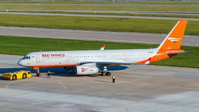 A picture of RA64017 - Tupolev Tu204100 - AviastarTU - © Alexander Lebedev