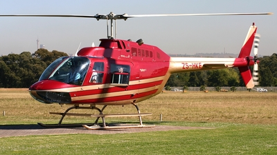 ZS-HKE - Bell 206B JetRanger III - Private
