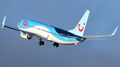 A picture of GTAWF - Boeing 7378K5 - TUI fly - © Brian T Richards