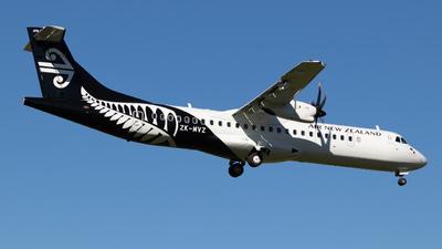 ZK-MVZ - ATR 72-212A(600) - Air New Zealand Link (Mount Cook Airline)