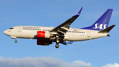A picture of LNTUM - Boeing 737705 - SAS - © Laszlo Fekete