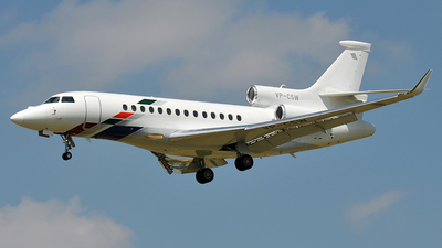 VP-CSW - Dassault Falcon 7X - VW Air Services