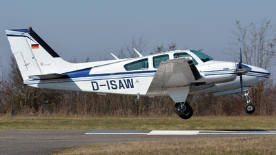 D-ISAW - Beechcraft 95-B55 Baron - Private