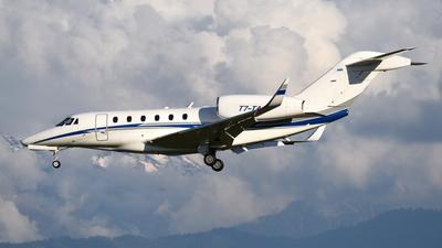 T7-TAN - Cessna 750 Citation X - Private