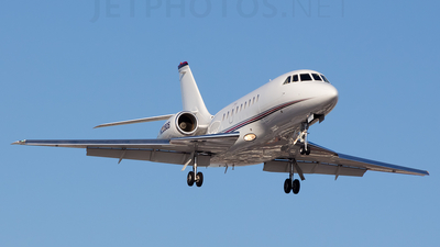 A picture of N229QS - Dassault Falcon 2000 - NetJets - © Mohammed Zaheer