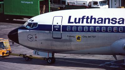 D-ABFL - Boeing 737-230(Adv) - Lufthansa