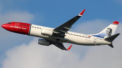 EI-FVW - Boeing 737-8JP - Norwegian