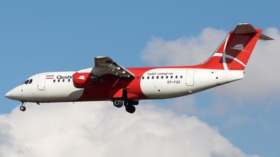 A picture of EPFQZ - Avro RJ100 - Qeshm Airlines - © Mahdi-Piltan