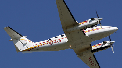 SE-LLU - Beechcraft B300 King Air 350 - WaltAir Europe