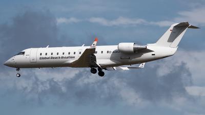 D-AGRA - Bombardier CRJ-200LR - Global Reach Aviation
