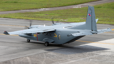 FAU537 - CASA C-212-CE Aviocar - Uruguay - Air Force