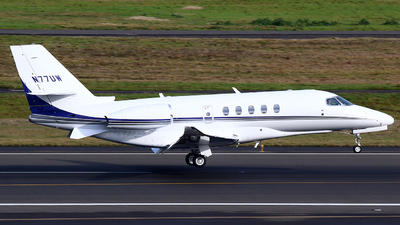 N77UW - Cessna 560XL Citation Excel - Private