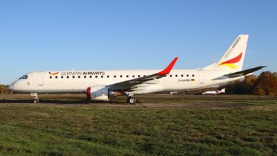 D-AJHW - Embraer 190-100LR - German Airways