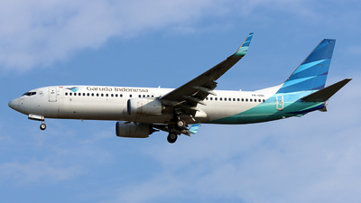 PK-GNC - Boeing 737-8U3 - Garuda Indonesia