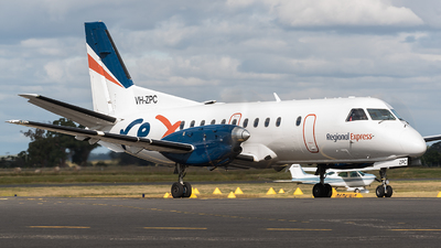 A picture of VHZPC - Saab 340B+ - Regional Express - © Jayden Laing