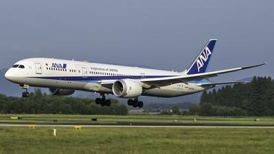 JA872A - Boeing 787-9 Dreamliner - All Nippon Airways (Air Japan)