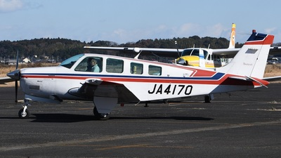 JA4170 - Beechcraft A36 Bonanza - Private