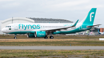 A picture of HZNS32 - Airbus A320251N - Flynas - © DN280