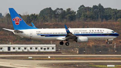 B-1283 - Boeing 737-81B - China Southern Airlines