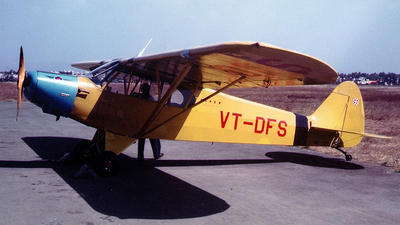 VT-DFS - Piper PA-18 Super Cub - Bombay Flying Club