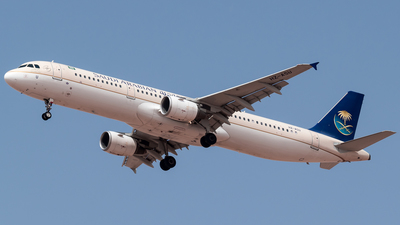 A picture of HZASU - Airbus A321211 - Saudia - © AirlinerSpotter