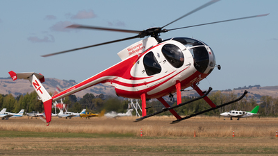 ZK-HNT - Hughes 369D - Wairarapa Helicopters