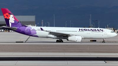 N390HA - Airbus A330-243 - Hawaiian Airlines