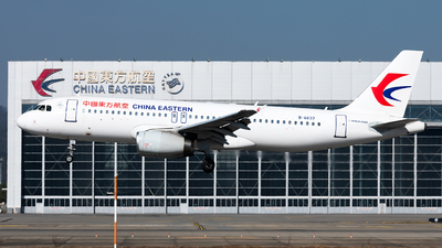A picture of B6637 - Airbus A320232 - China Eastern Airlines - © Lazy Clutch