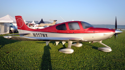 N117MX - Cirrus SR22T - Private
