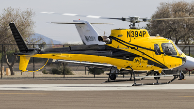 A picture of N394P - Airbus Helicopters H125 -  - © xuxinyi1000