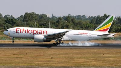 ET-AQL - Boeing 777-260LR - Ethiopian Airlines